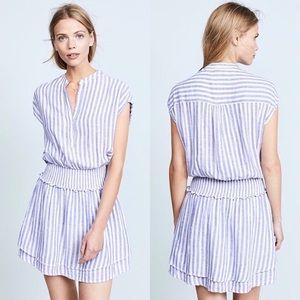 Rails Angelina Boracay striped linen dress, size S